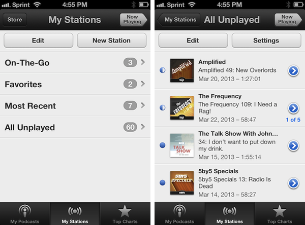 My Stations