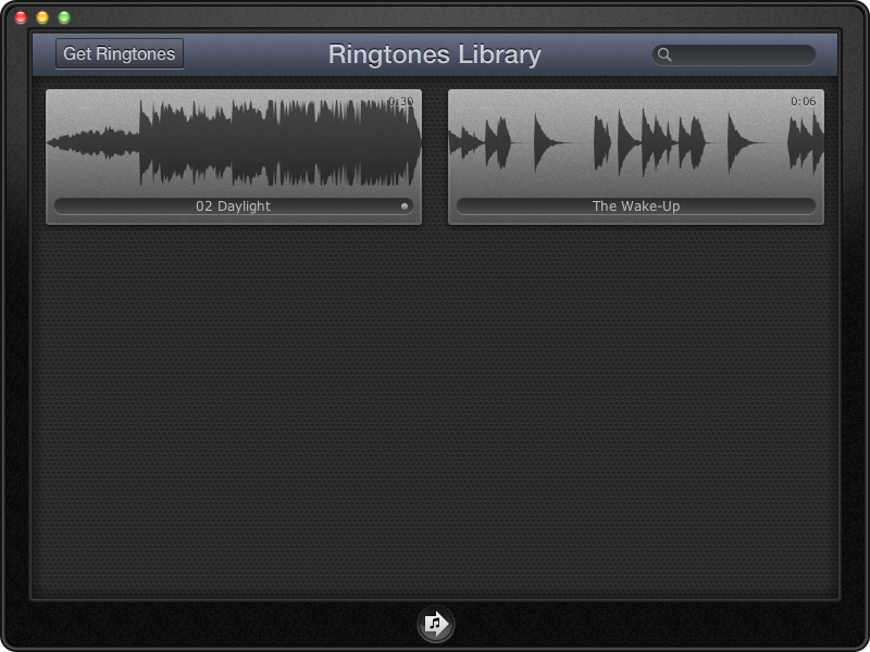 iToner 3: Create and Manage Ringtones on the Mac