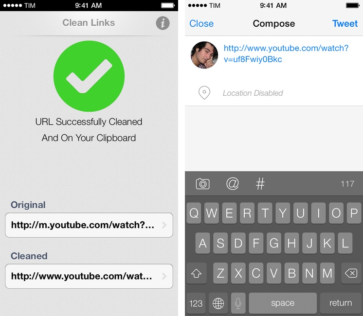 Resolve and Clean URLs with Clean Links for iOS - MacStories