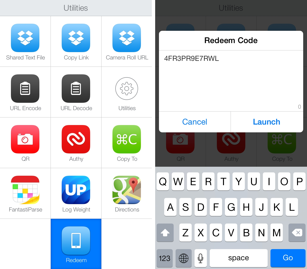 Redeeming App Store Promo Codes with Launch Center Pro ...