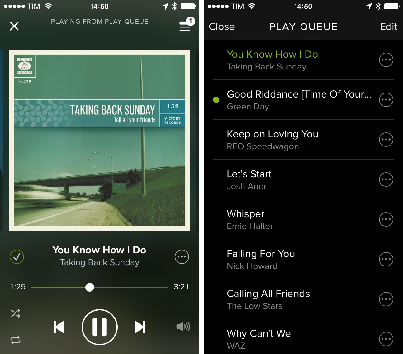 how to play spotify web player on iphone