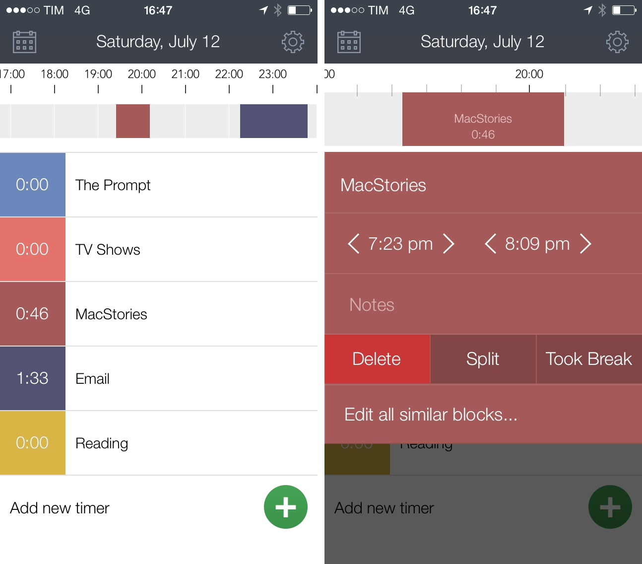 hours  simple and beautiful time tracking