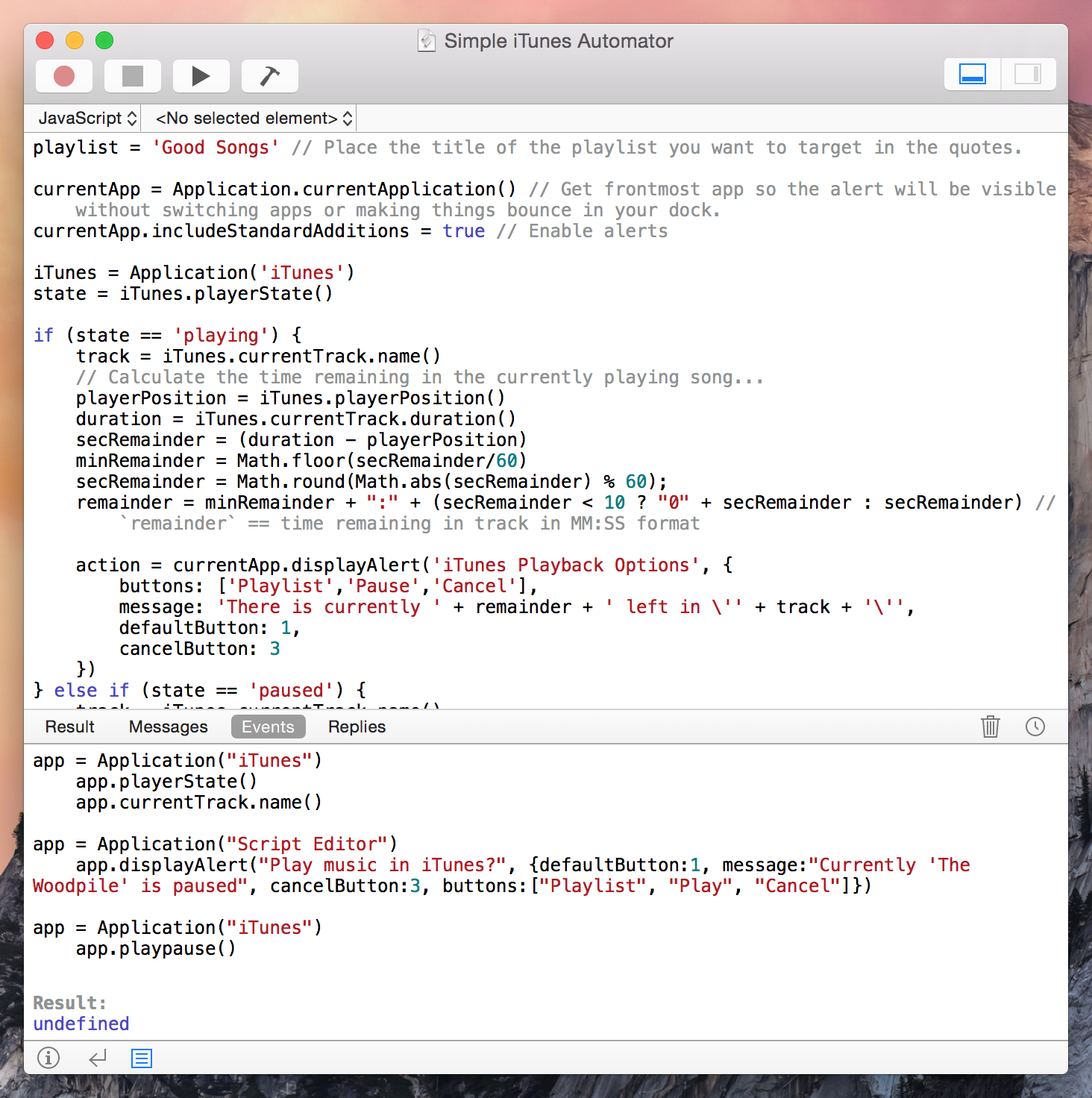 extensibility and automation changes in os x yosemite macstories there