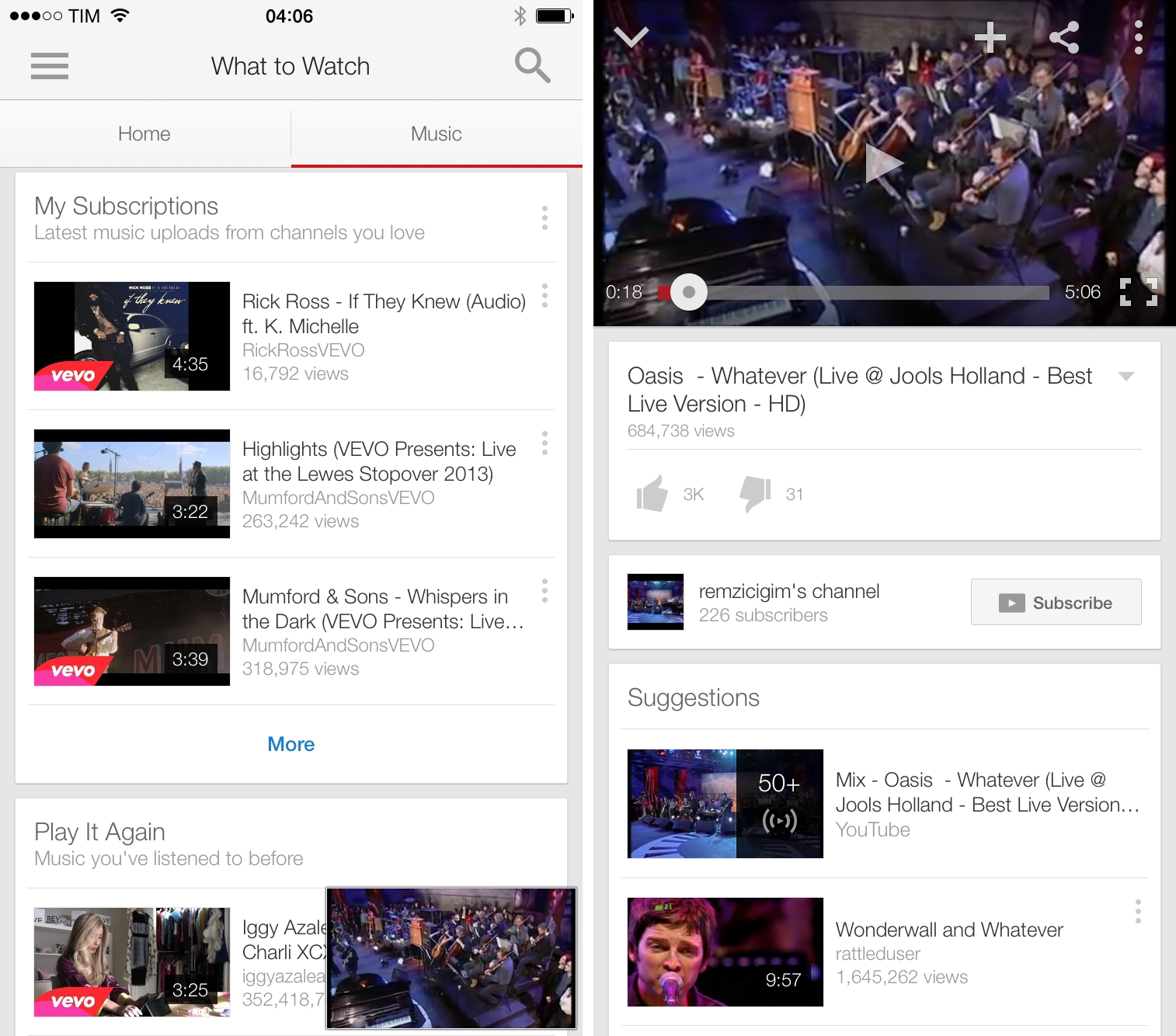 Google Updates YouTube for iOS with New Music Section MacStories
