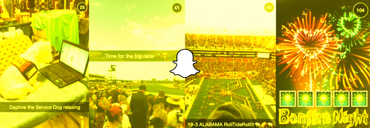 Snapchat's 'Our Story' Events Are a Captivating Experiment